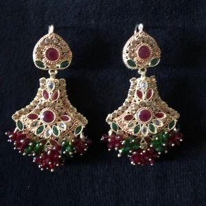 Jewelry - New Indian Jewelry Earrings Jhumkas